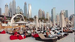 amazing Dubai Marina Beach
