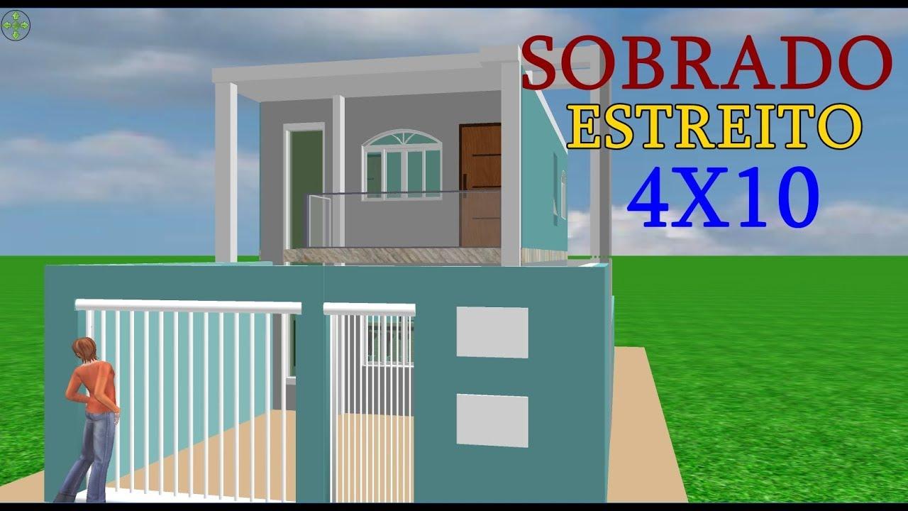 Download Sobrado estreito 4x10