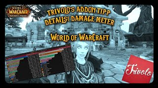 WoW AddOn Tipp | Details! Damage Meter  [GER][1080]
