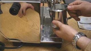 Ponte Vecchio Lusso espresso machine
