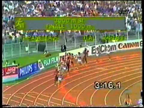 Bravo #Chiappinelli anche se con 8:35 anni fà ci si vinceva i campionati regionali. Chi ha vissuto gli anni ruggenti di Panetta non può che provare tanta nostalgia. ATLETICA MONDIALI ROMA 1987 PANETTA 3 000 SIEPI  via @YouTube - UkusTom