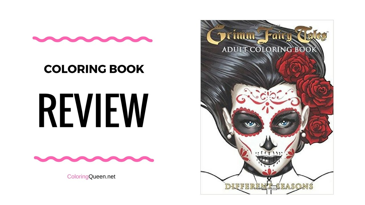 grimm fairy tales different seasons coloring book review