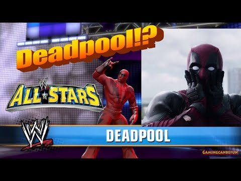DEADPOOL PLAYS WWE ALL STARS!!! (Voice Effects)