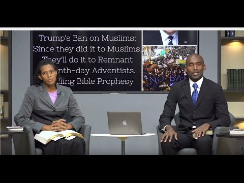 Obama Refused to but Trump links Terrorism w/Religion,Bans Muslims.He may do it to Remnant SDAs