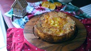 Французский яблочный пирог! Супер сочный и вкусный!