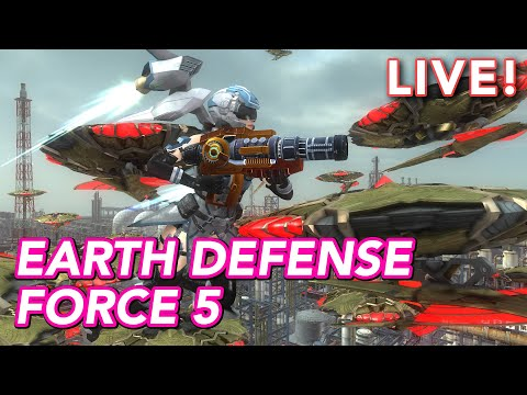 Kotaku played Earth Defense Force 5! (with Tim Rogers)
