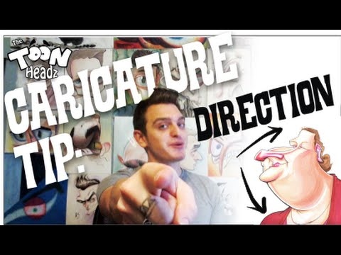 Caricature tip direction youtube voltagebd Images