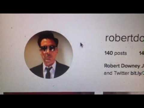 Happy Birthday Robert Downey Jr. Who Is He Following On Instagram?