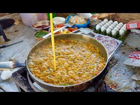 EGG TADKA MAGGI | Anda Wali Cheese Maggi | Indian Street Food
