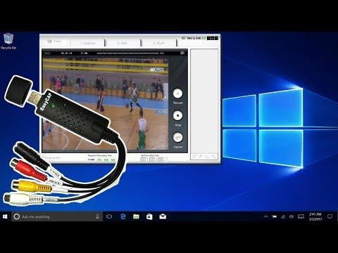 EASYCAP USB Audio Video Capture Adapter TV VHS DVD - Unbox And Install Guide