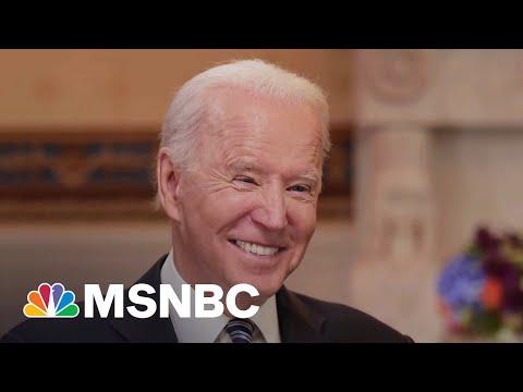 Biden Calls Liz Cheney & GOP In-Fighting 'Above His Pay Grade'