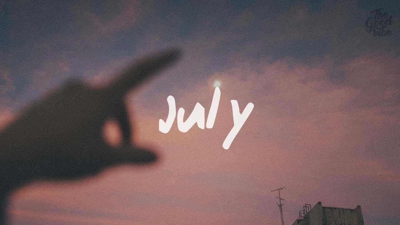 Noah Cyrus ft. Leon Bridges - July (Lyric Video)