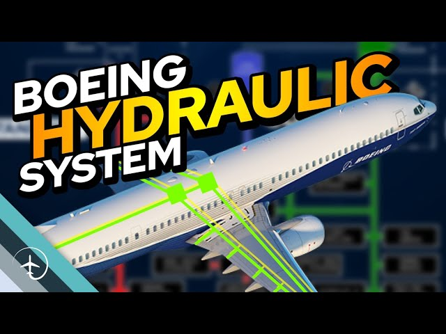 How the Boeing 737 hydraulic system works. (And what happens when it doesn't)