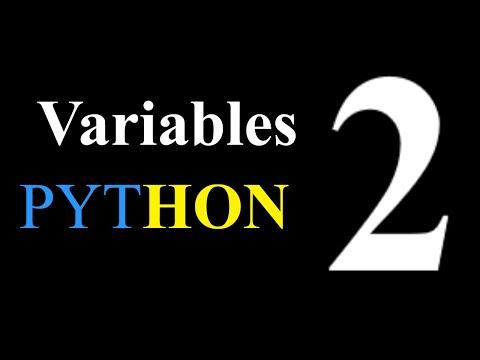 Python Tutorial - Variables- Episode 2 thumbnail