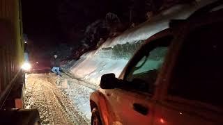 Черногория история пробки снег гостеприимство Montenegro snow traffic Jam mountains r beautiful