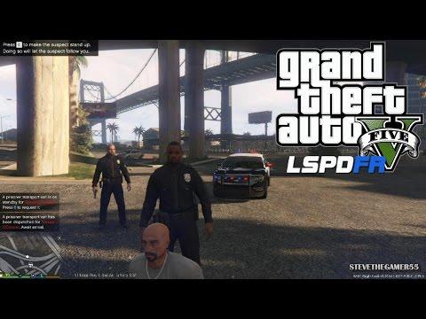 GTA 5 - LSPDFR - EPiSODE 37 - LET'S BE COPS - AIRPORT PATROL  (GTA 5 PC POLICE MODS)