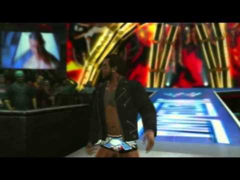 WWE'12   Travis Jones Entrance