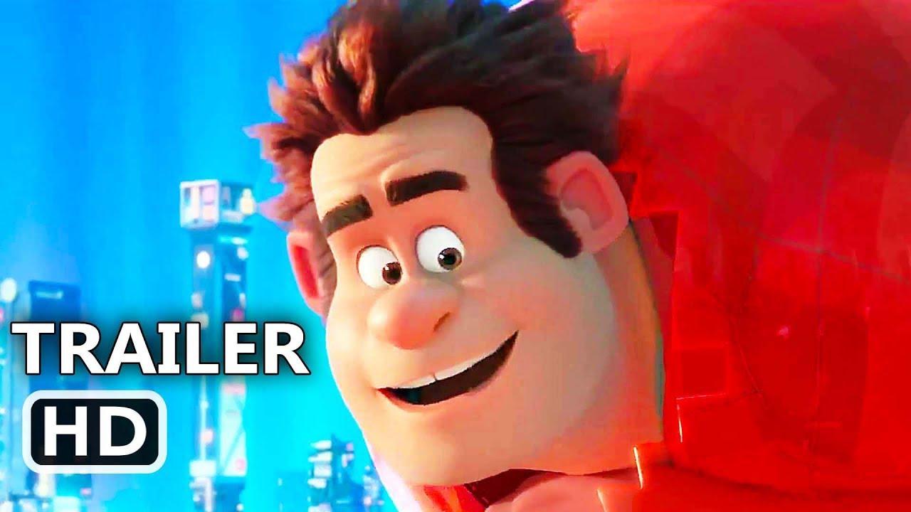 WRECK-IT RALPH 2 Official Trailer (2018) Ralph Breaks the Internet. Disney Movie HD - YouTube