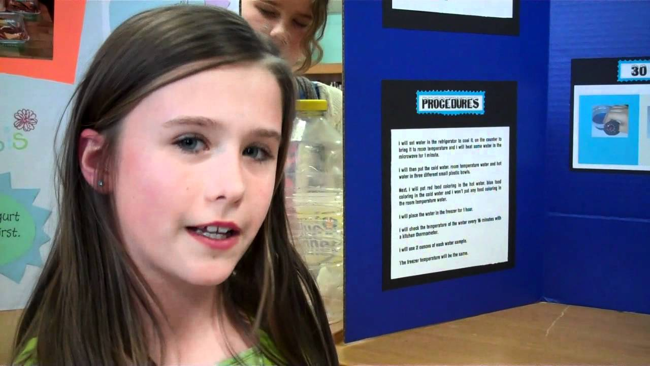 how to do a great elementary science fair project and board layout wehavekids [ 1280 x 720 Pixel ]