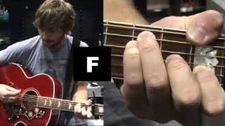 "Lady Antebellum - How To Play ""Need You Now"" on Guitar"