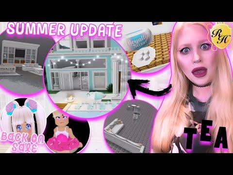 NEW SUMMER BEACH HOUSE 🌞🏠 & Summer Items RETURN! Royale High