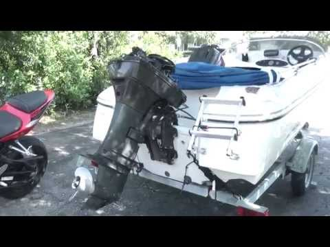 How to change a water pump on a force 50hp outboard