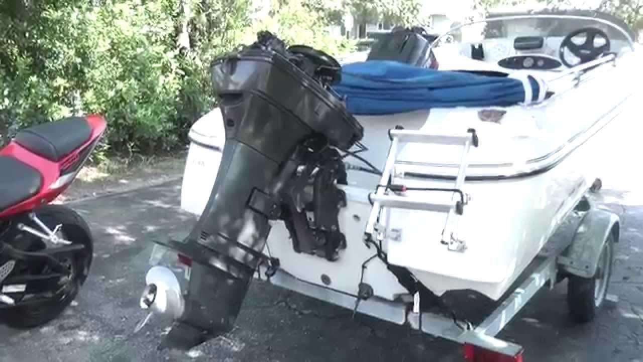 How To Change A Water Pump On Force 50hp Outboard Youtube 120 Engine Diagram