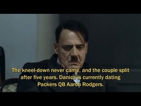 Hitler Rants About Danica Patrick Dating Aaron Rodgers