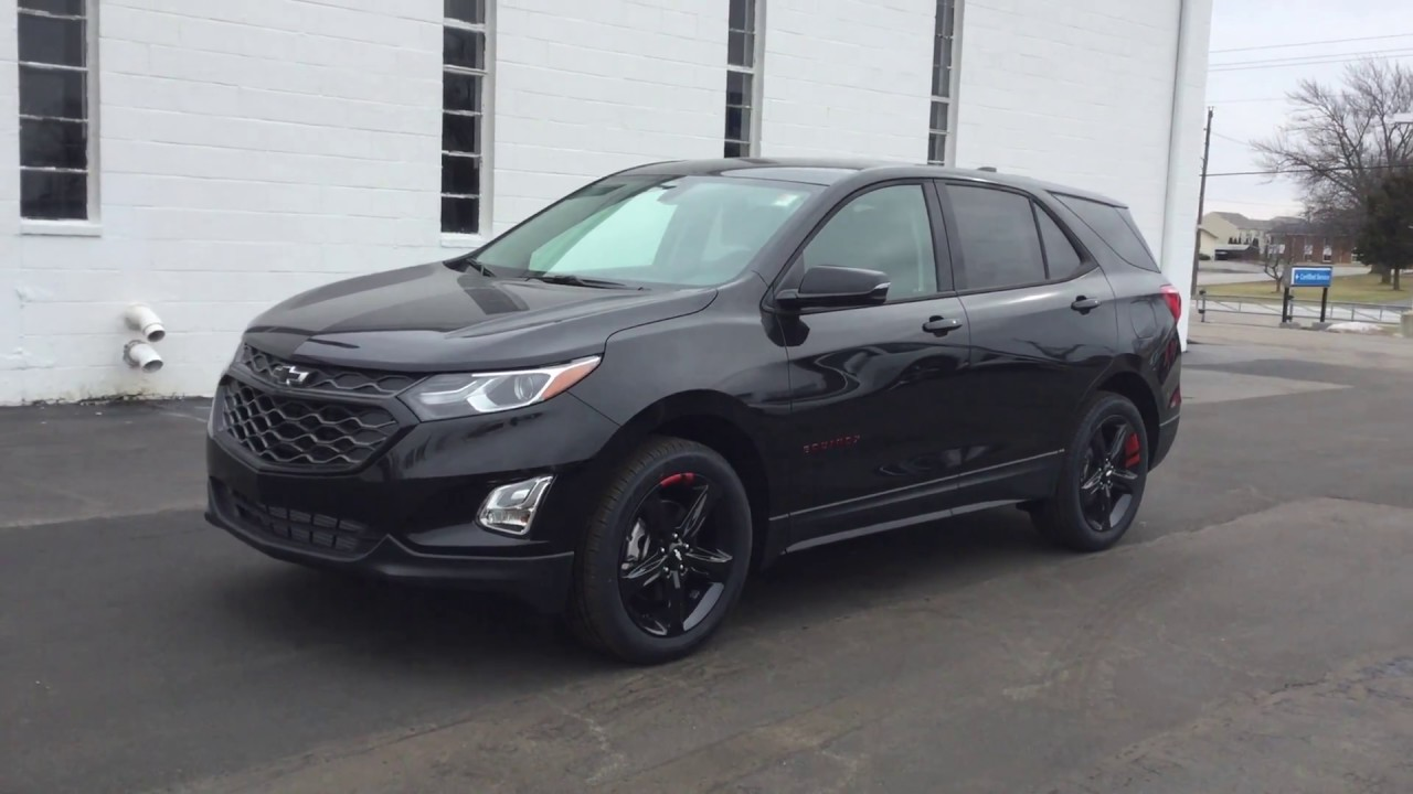 2018 Chevrolet Equinox Redline - YouTube