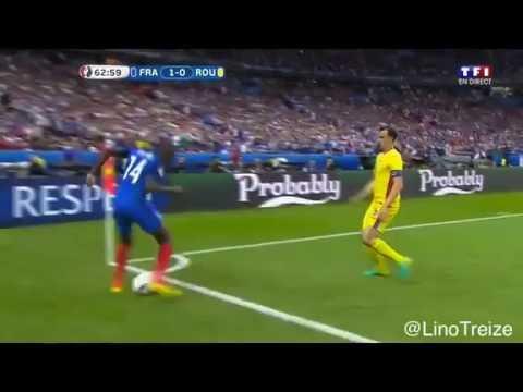 Blaise Matuidi crazy skills vs Romania - Euro 2016