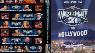WWE Wrestlemania 21 Second Theme Song Full+HD