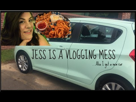 Jess is a Vlogging Mess #9 (Also I buy car)