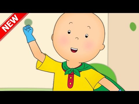 ★NEW★ SUPER HERO CAILLOU | Fun for Kids | Videos for Toddlers | Full Episode | Cartoon movie