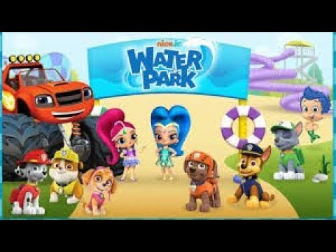 Nick Jr. Water Park - The Super Slide Ride With Bubble Guppies - Nick Jr. Games