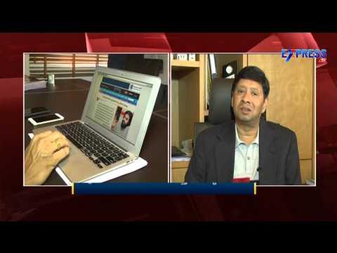 Express TV Chairman Chigurupati Jayaram launches English Website - Express TV