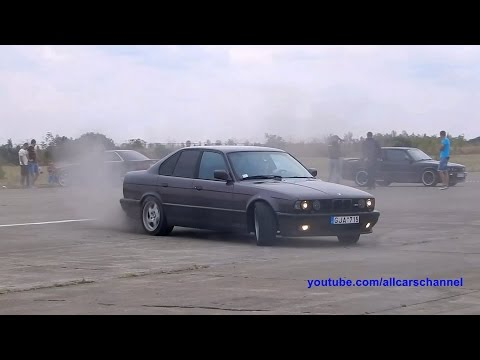 BMW M5 E34 drift