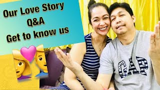 GET TO KNOW US | FILIPINO COUPLE |OUR LOVE STORY | Rosh Castillo