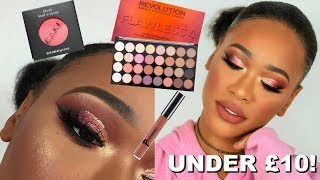 FULL FACE USING PRODUCTS UNDER £10!