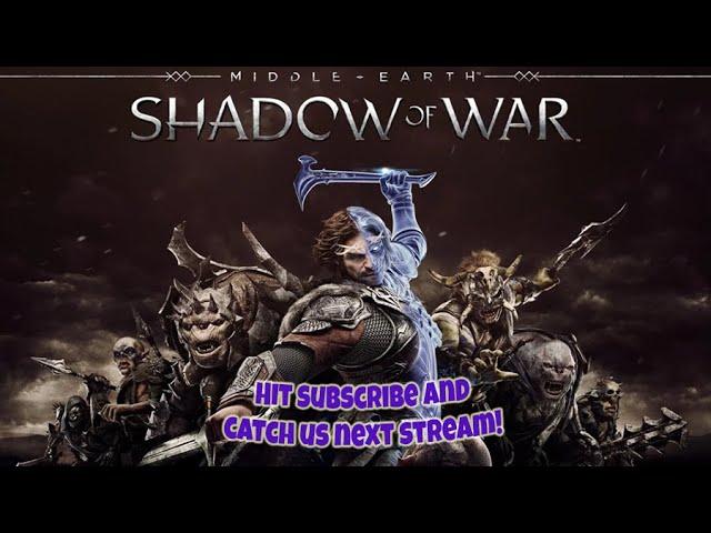 Shadow of War Backlog Visit