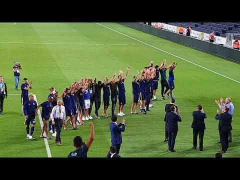 KEDERLİ GÜNLER OLSA DA BAZEN! Maç Sonu Takıma Ve Başkana Sevgi Seli / Fenerbahçe-Benfica /14.08.2018