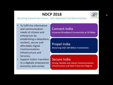 Webinar 15 - Government of India initiative for leadership in 5G