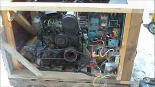 Homemade Large Generator 50hp 12v 120v with Suzuki G10 engine