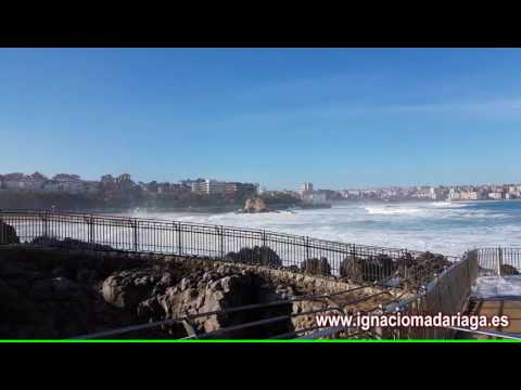 Ground swell on Cantabrian Sea (25 Dec. 2016)