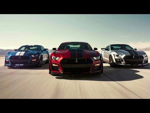 2020 Mustang Shelby GT500 - The Most Powerful Mustang Ever!!!