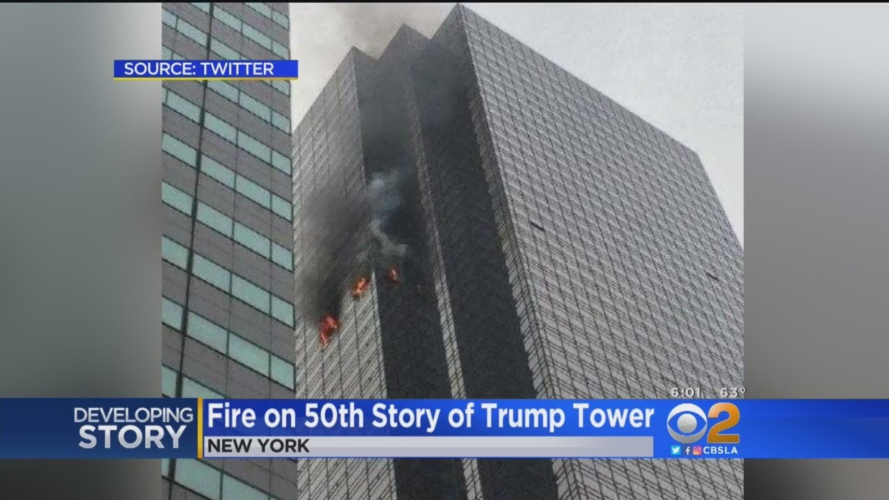 Deadly Fire On 50th Story Of Trump Tower