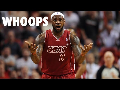 "NBA ""Whoops"" Moments (Part 1)"
