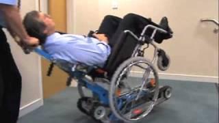 Stair Mate Wheelchair Lift, Portable Wheel Chair  Stairclimber, Manual Wheel Chair Carrier