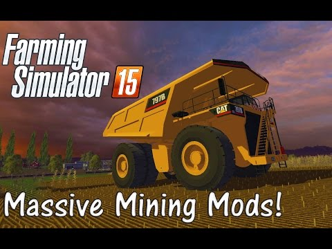 Farming Simulator 15: Massive Mods - Mining And Construction Special!