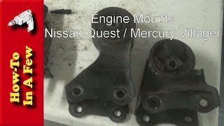 Rear Left Engine Mount for NISSAN QUEST MERCURY VILLAGER