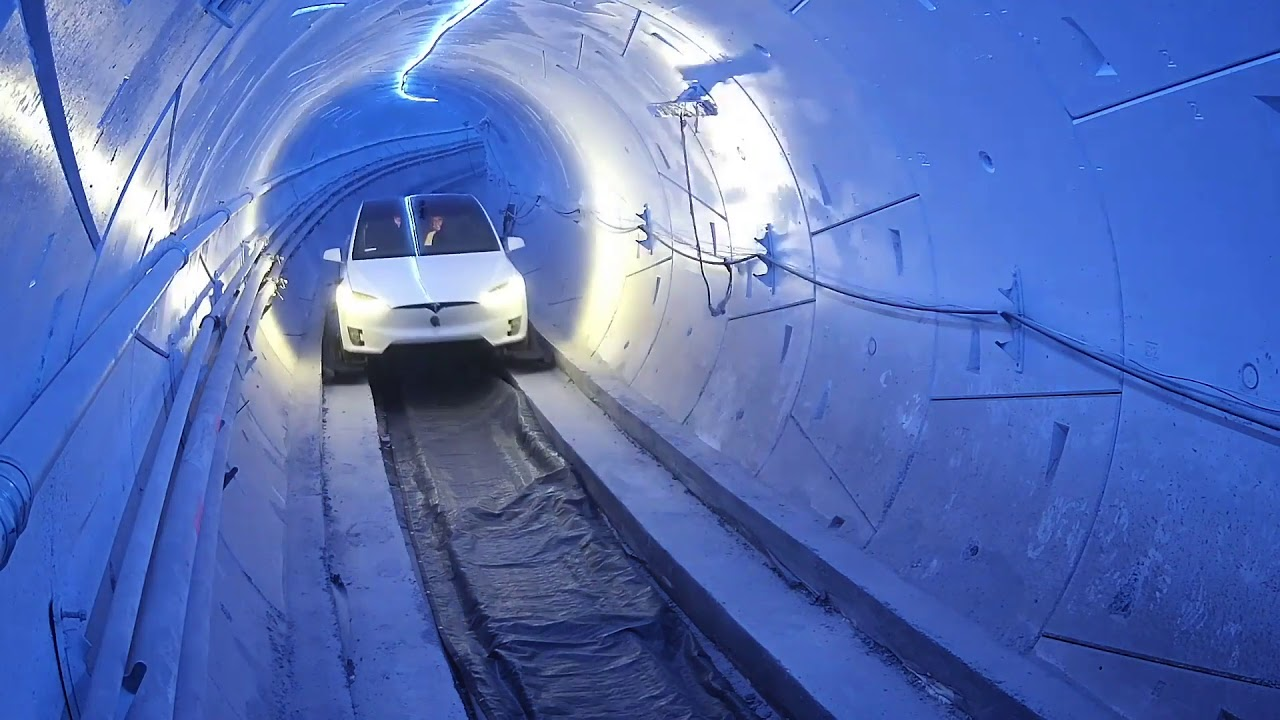 The Boring Company Loop System - YouTube